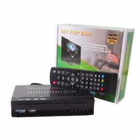 Conversor Tv Digital E Gravador + Cabo Hdmi Full Hd Usb
