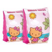 Boia De Braço Infantil Menina Hello Kitty Boia Piscina