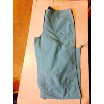 Pantalon De Tela Fcc Talla 44 Mujer Excelente Estado