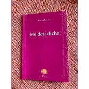 Libro Me Deja Dicha De Alicia Saliva Viajera Editorial