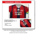 Jersey Atlante - Atlética 08 - 09 - Local