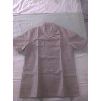 Camisas Uniforme Faena Armada/marina Mercante Goldy