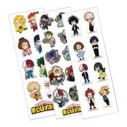 Plancha De Stickers De Anime My Hero Academia