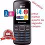 Celular Lg B220 Preto Original Antena Rural -revenda/atacado