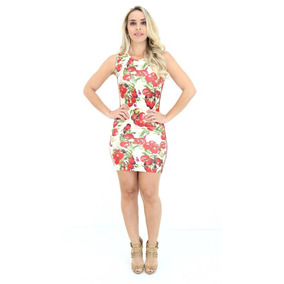 Vestido Lança Perfume Tubinho Estampa Tomatinhos Pv18