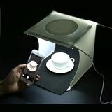 Estudio Fotografico Kit Plegable Luz Led Portable