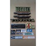 Toyota Land Cruiser Fj40/43 Embelmas Y Calcomanias Tipo Orig