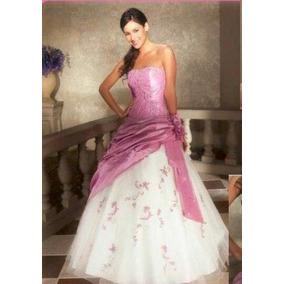 Vestido 15 Quinceañera Con Etiqueta Color Lila
