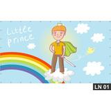 Pequeno Príncipe Painel 3,00x1,60m Lona Festa Aniversários