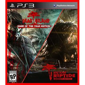 Dead Island + Dead Island Riptide Ps3 Código Psn Promocao!!