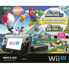 Console Wii U Deluxe New Super Mario Bros U Sem Game Pad
