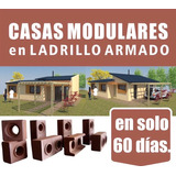 Casas Prefabricadas Ladrillo Modular Ecoblock Llave En Mano