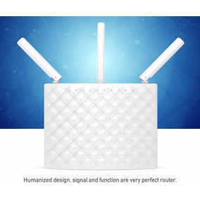 Wifi Roteador Tenda Ac15 3 Antena 2,4 E 5ghz Longa Distância