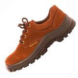 Zapato De Trabajo Cuero Top Nobuck Worksafe Punta Plastica