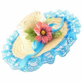 Chapéu De Festa Feminino Country Junino Caipira Palha Junina. 6 cores. R  37 af7283445a3