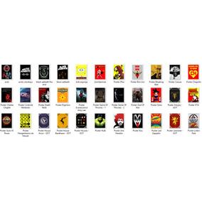 Posters Personalizados Tamanho A4 Sem Moldura