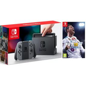 Nintendo Switch Con Juego Fifa 18 Obsequio Estuche