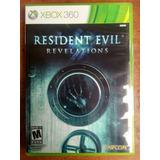 Juego Xbox 360 Resident Evil Revelations