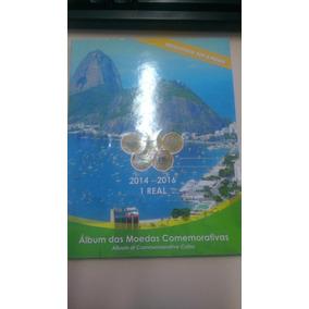 Álbum P/ Coleção De Moedas Comemorativas De 1 Real Olimpíada
