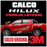 Calco Originales Toyota Hilux 2016/17 Calcomania Por Lateral