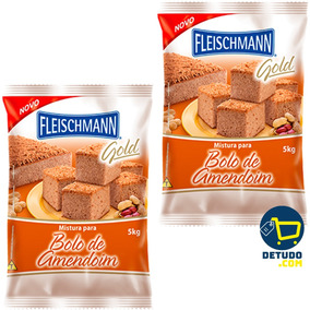 10kg Mistura Para Bolo Amendoim Fleischmann Festa Junina