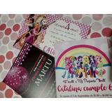 25 Tarjetas Invitaciones Cumpleaños Personalizadas 13 X 9