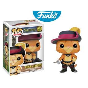 Funko Pop Puss In Boots (gato Con Botas) Original