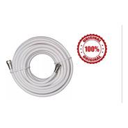 Cable Coaxial Rg6 Tv Cable 10 Mts Alta Calidad + Conectores