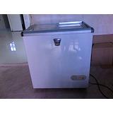 Congelador Horizontal Con Tapas De Vidrio, Como Nuevo