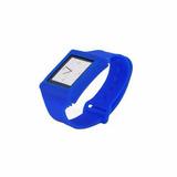 Capa Relógio Azul De Silicone Para Ipod Nano 6g Mobimax