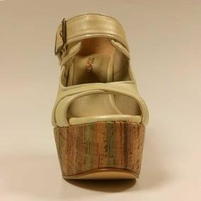Sandalia Manteca Oropaco Dama
