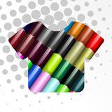 Vinil Textil Siser Easyweed En Hoja De 37 X 30 Cm Colores