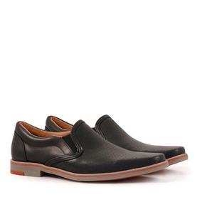 Zapatos De Vestir De Cuero En Negro De Hombre Batistella
