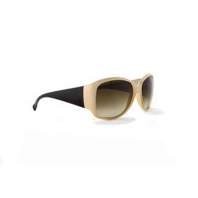Óculos De Sol Pierre Cardin Feminino Nude Claro Lente Marrom