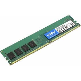 Memoria 4gb Ddr4 Crucial 2133mhz Cl15 Desktop Nfe Garantia