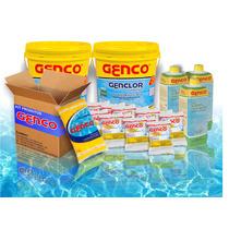 Kit Genco Limpeza Piscina Ph Certo Genclor Granulador Algici