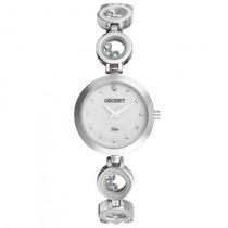 Relógio Orient Fbss0040 S1sx Feminino Prata Analóg- Refinado