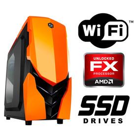 Pc Gamer Computador Cpu Quadcore Wifi Ssd 120gb +nota Fiscal