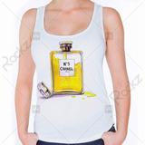 Regata Feminina Perfume Chanel Paris
