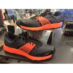 Zapatillas Adidas Ain Bounce, Nuevas, Color Negro Y Naranja