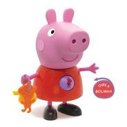Boneca Peppa Com Atividades Peppa Pig Elka