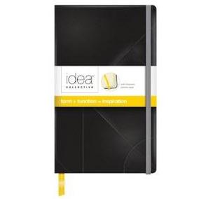 Idea Tops Diario Colectiva, Cubierta Negro, Regla Ancha, Pap