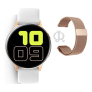 Smart Watch Reloj Inteligente X-time Malla Metal Y Silicona