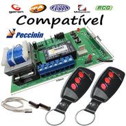 Kit Placa Universal 2x Controles E Fim De Curso Motor Rossi