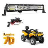 Quadriciclo - Honda - Yamaha - Can Am - Barra Led 324w 58cm