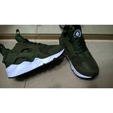 Nike Huarache Verde Para Niños