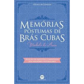 Livro - Memórias Póstumas De Brás Cubas - Machado De Assis.