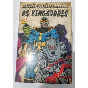 Coleção Histórica Marvel Os Vingadores 01 Ao 04