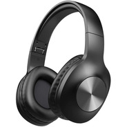Auriculares Letscom Bluetooth 5.0 Over Ear 100hs Mic Hi Fi