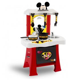 Cozinha Mickey Disney Infantil Brinquedo Xalingo